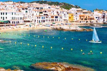отдых море испания